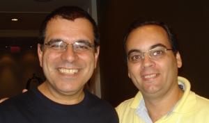 Julio Rocha e James McSill