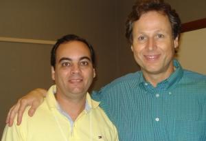 Julio Rocha e Peter Bowerman